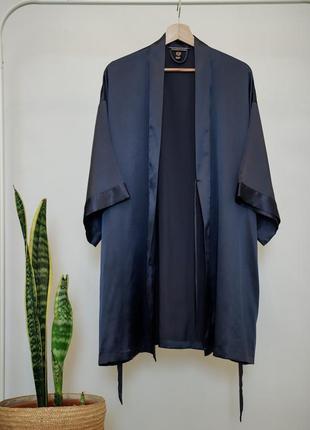 Атласный халат кимоно victorias secret