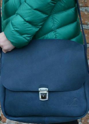 Сумка седло с портфельным замком1 фото