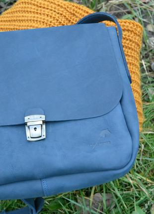 Сумка седло с портфельным замком5 фото