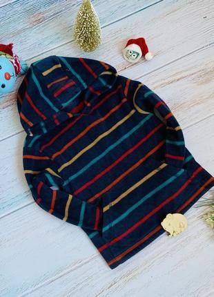 Фирменная флиска свитер m&co малышу 2-3 года состояние новой