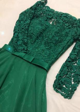 Дорогое платье макси