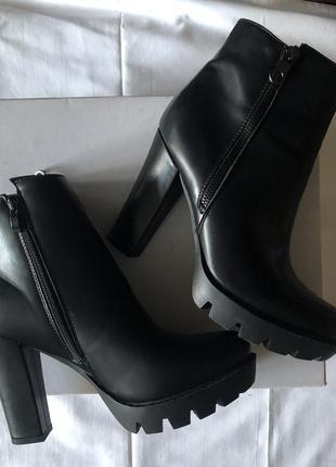 Ботинки осенние еко кожа