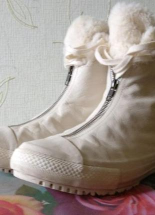 Зимние сапоги converse высокие кеды конверс оригинал 27см