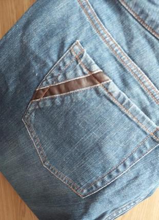 Бриджи джинсовые на шикарную даму avenue р.18 (52-54)