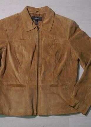 Винтажная замшевая куртка от alfani + подарок