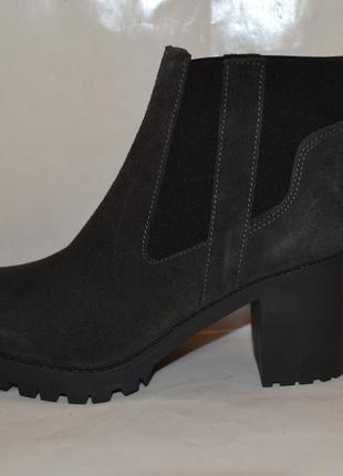 """Р41 германия,""""esprit"""",100% натуральная кожа! брендовые, эффектные ботильоны ботинки"""