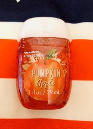 Американский санитайзер pumpkin apple от bath and body works,гель для рук парфюмом