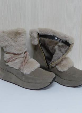 Ботинки чоботи kelton