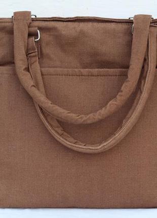 Большая тканевая сумка из германии