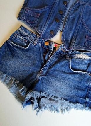 Джинсовые шорты джинсы