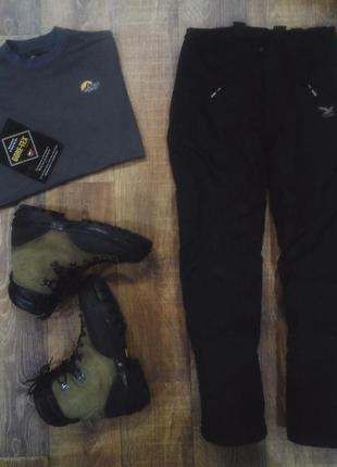 Зимние штаны salewa. брюки salewa, треккинговые брюки salewa. powertex