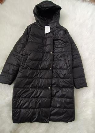 Пуховик пальто куртка большого размера