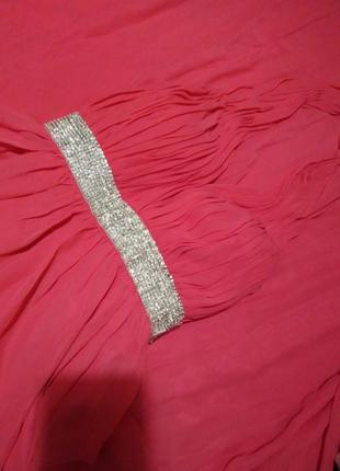 Платье nly eve. платье свидетельницы. розовое платье.  платье на свадьбу. длинное платье