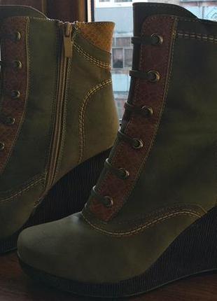 Ботинки демисезонные.