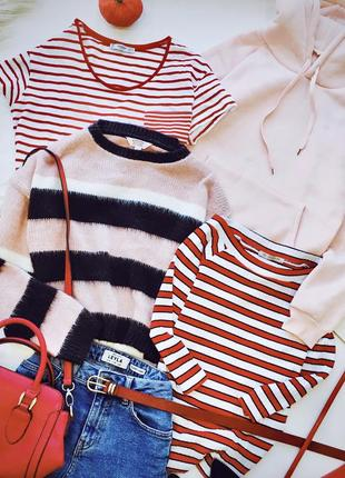 Organic свитер в рубчик marks&spenser свитер полоска