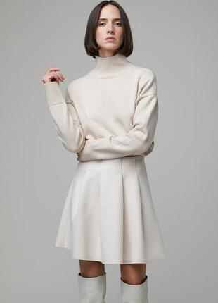 Зимняя мини-юбка на каждый день