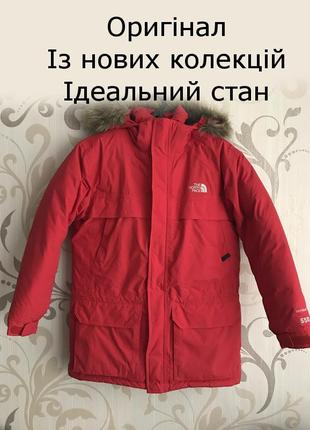 Пуховик the north face mcmurdo