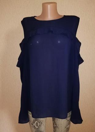 🔥🔥🔥новая легкая женская блузка, кофта, джемпер с открытыми плечами 20 р. atmosphere🔥🔥🔥