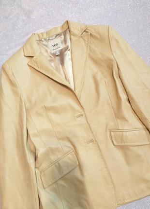 Кожаный пиджак- модный камбек сезона!!!