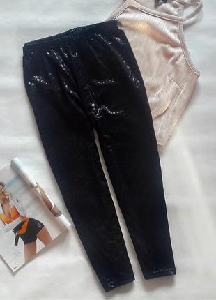 Женские короткие лосины черного цвета, лосины-бриджи с высокой посадкой