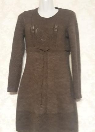 Платье вязанное 44-46 размера