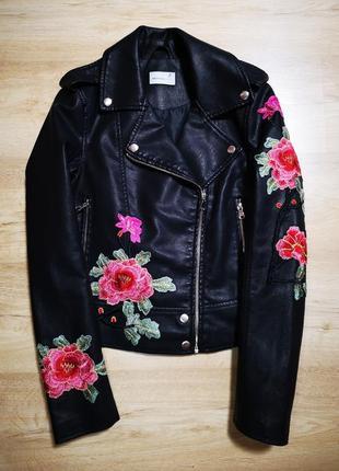 Куртка косуха с вышивкой anothereight