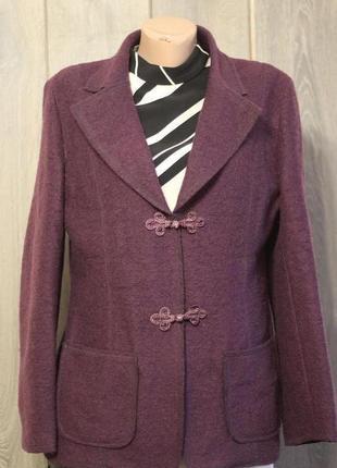Роскошный пиджак 100% шерсть mac scott 48-50