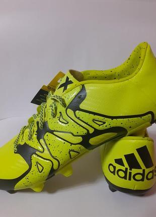 Adidas x 15.3 fg/ag бутсы, копочки