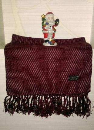 Шелковый стильный шарф