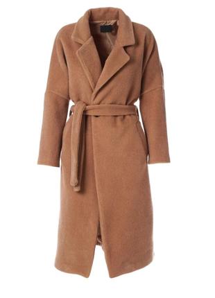Пальто тренд цвета camel верблюд италия l xl