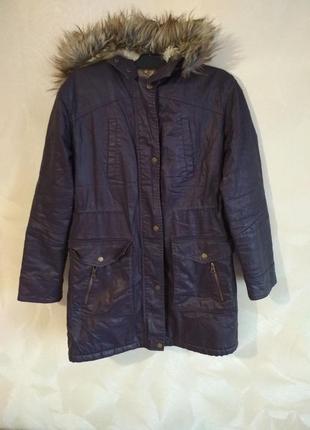 Очень классная зимняя парка куртка  marks& spencer