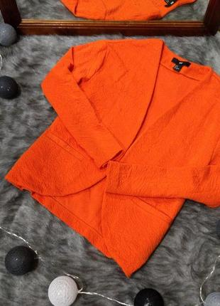 Фактурный жакет блейзер пиджак h&m