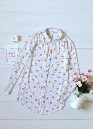 Ніжна блуза в квіти george