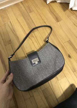 Винтаж сумка багет liz claiborne