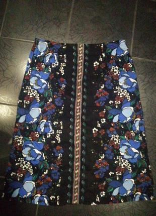 Стильная вельветовая юбка от tu