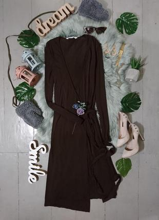 Актуальное миди платье на запах №27max