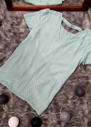 Топ блуза с драпировкой tu