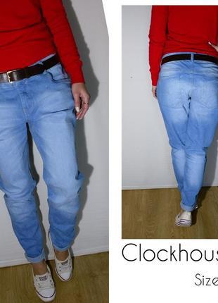 Крутые плотные джинсы clockhouse