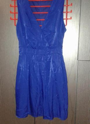 Нарядное, яркое платье new look на новогодний корпоратив , размер 16/44.