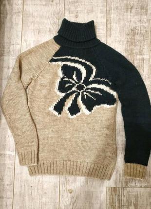 Теплый, шерстяной свитер, кофта