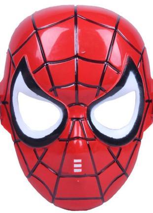 Маскарадная маска человек-паук плотный пластик – новая
