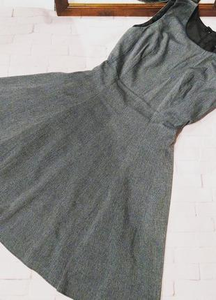Платье из костюмной ткани с отрезной талией next