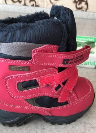 Зимові термо черевики для дівчинки mountain warehouses