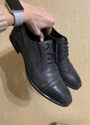 Натуральная кожа. туфли классические мужские.