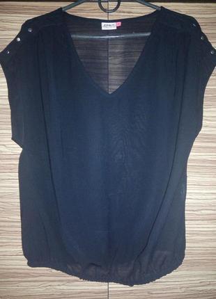 Лёгкая, чёрная блуза only