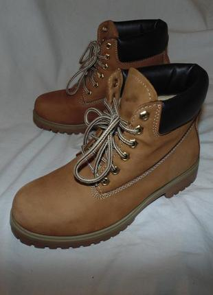 Сапоги ботинки landrover оригинал кожа натуральная в идеальном состоянии как новые
