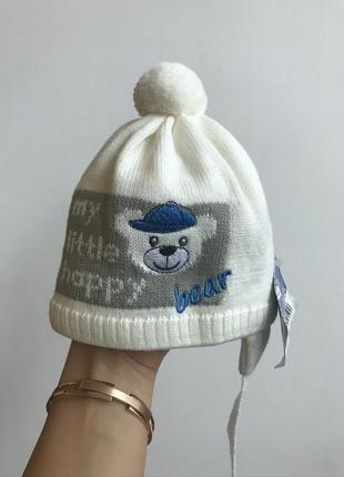 Зимняя новая шапка