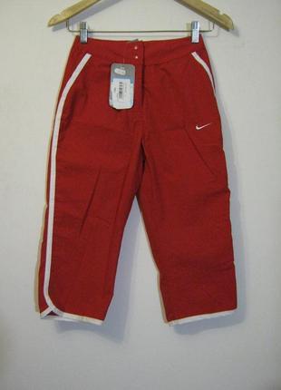 Красные брюки nike новые + 1800 позиций одежды