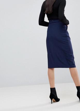 Супер батал джинсовая юбка карандаш размер 20