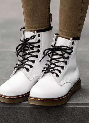 Ботинки dr. martens (мех)